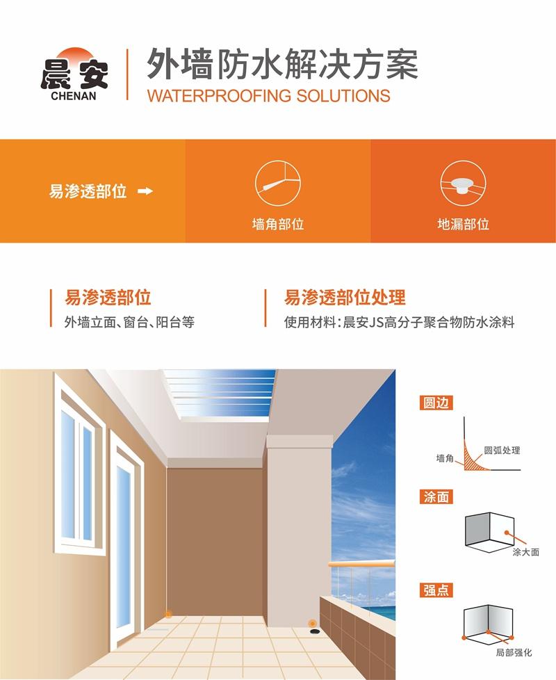 外墙防水解决方案